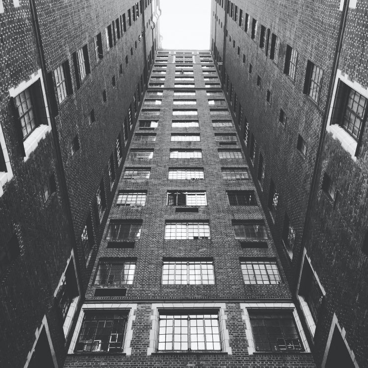 photo of high rise apartment building